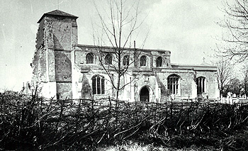 The church from the south about 1890 [Z50/39/15]